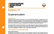 Edition 31 - Superannuation