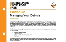 Edition 52 - Managing Your Debtors