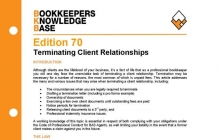Edition 70 - Terminating Client Relationships