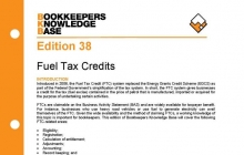 Edition 38 - Fuel Tax Credits