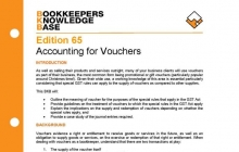 Edition 65 - Accounting For Vouchers