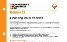 Edition 23 - Financing Motor Vehicles