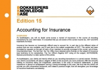 Edition 15 - Accounting for Insurance