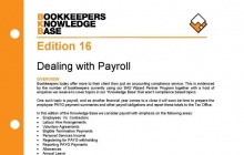 Edition 16 - Dealing With Payroll