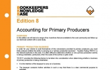 Edition 08 - Accounting for Primary Producers