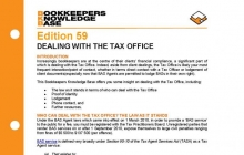 Edition 59 - Dealing with the Tax Office