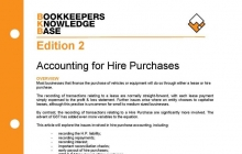 BKB Edition 2 - Accounting For Hire Purchases | ABN