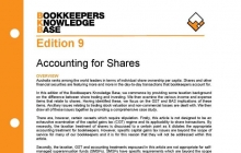Edition 09 - Accounting for Shares