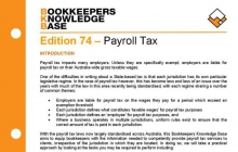 Edition 74 - Payroll Tax