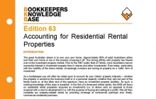 Edition 63 - Accounting for Residential Rental Properties