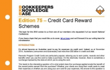 Edition 75 - Credit Card Reward Schemes