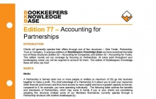 Edition 77 - Accounting for Partnerships