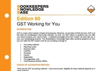 Edition 60 - GST Working For You