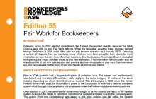 Edition 55 - Fair Work for Bookkeepers