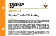 Edition 36 - PAYG Withholding