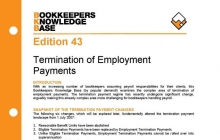 Edition 43 - Termination of Employment Payments