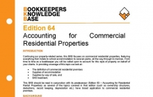 Edition 64 - Accounting for Commercial Residential Properties