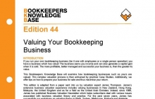 Edition 44 - Valuing Your Bookkeeping Business