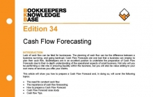 Edition 34 - Cash Flow Forecast