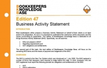 Edition 47 - Business Activity Statement - Part 1